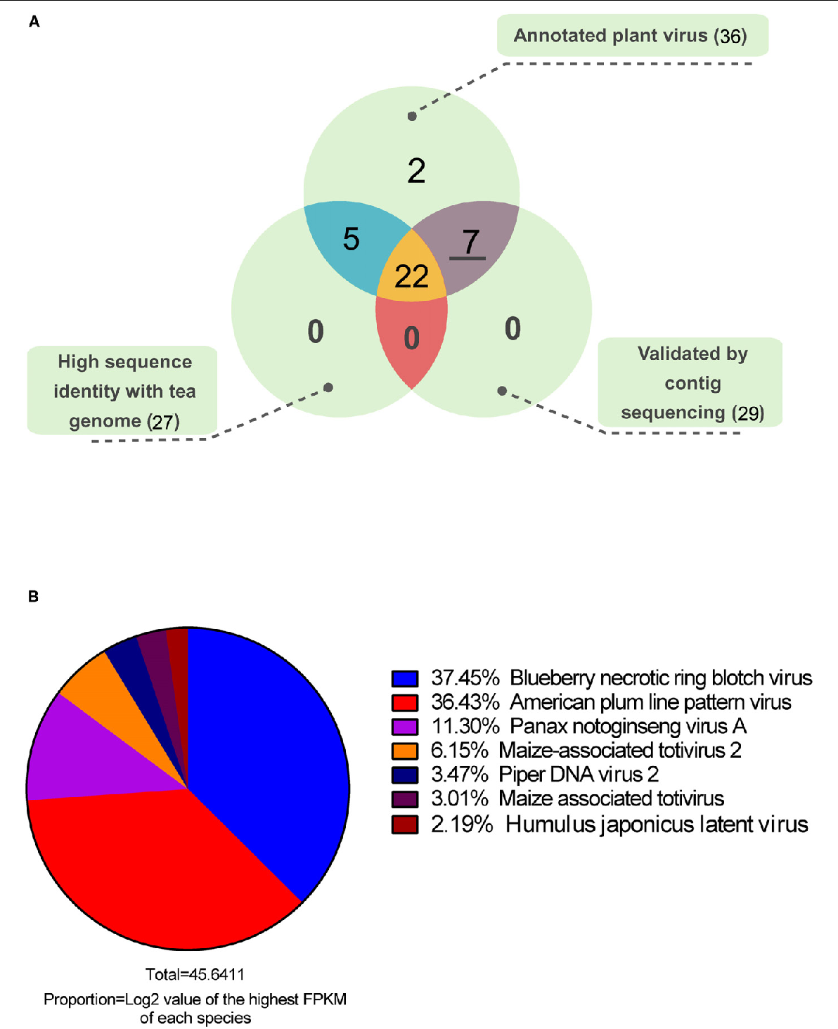 figure 2 from discovery of plant viruses from tea plant camellia